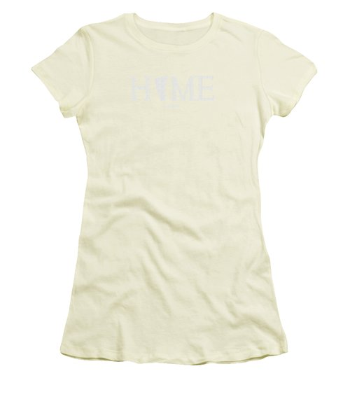 Vt Home Women's T-Shirt (Junior Cut) by Nancy Ingersoll