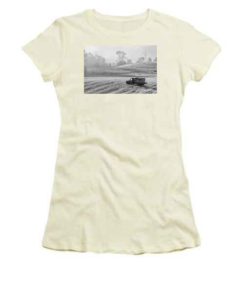 Waiting For A Load Women's T-Shirt (Junior Cut) by Nicki McManus