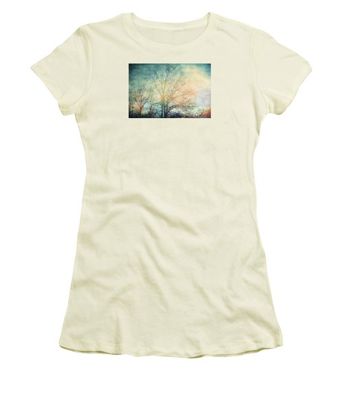 Waiting For Rain Women's T-Shirt (Junior Cut) by Michele Cornelius