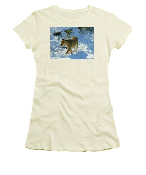 Walking On The Wild Side Women's T-Shirt (Junior Cut) by Emmy Marie Vickers