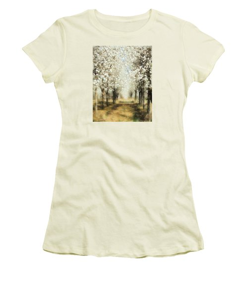 Walking Through A Dream Ap Women's T-Shirt (Junior Cut) by Dan Carmichael