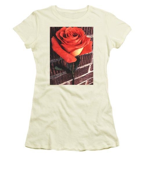 Wallflower Women's T-Shirt (Athletic Fit)