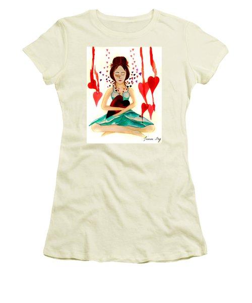 Warrior Woman - Tend To Your Heart Women's T-Shirt (Junior Cut)