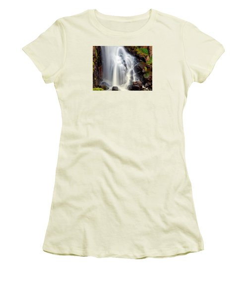 Wash Over Me Women's T-Shirt (Junior Cut) by Rick Furmanek