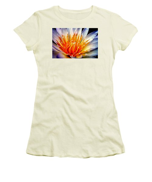 Water Lily Flower Women's T-Shirt (Athletic Fit)