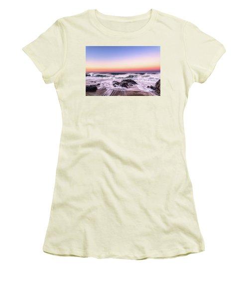 Wave Action Women's T-Shirt (Athletic Fit)