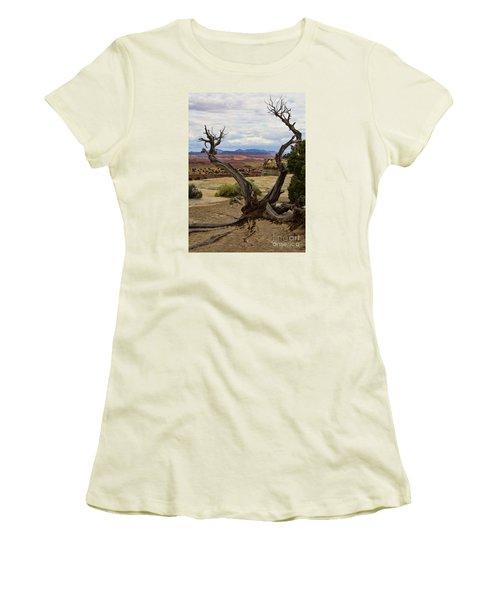 Weathered Women's T-Shirt (Junior Cut) by Steven Parker