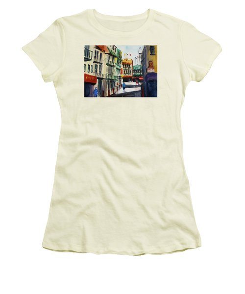 Waverly Place Women's T-Shirt (Junior Cut) by Tom Simmons