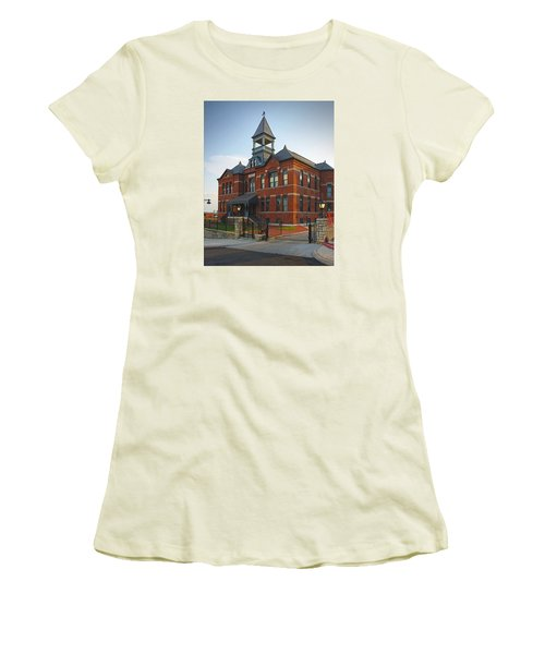 Women's T-Shirt (Junior Cut) featuring the photograph Webster House by Jim Mathis