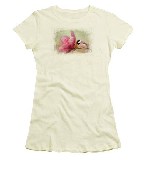 Welcome Spring Women's T-Shirt (Junior Cut) by Jai Johnson