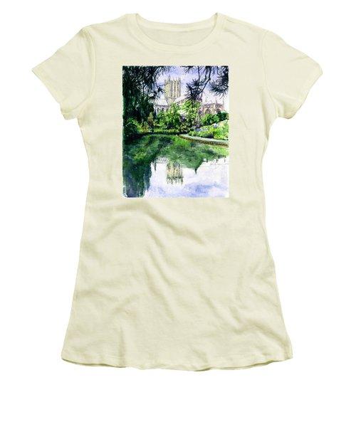 Wells Cathedral Women's T-Shirt (Junior Cut)