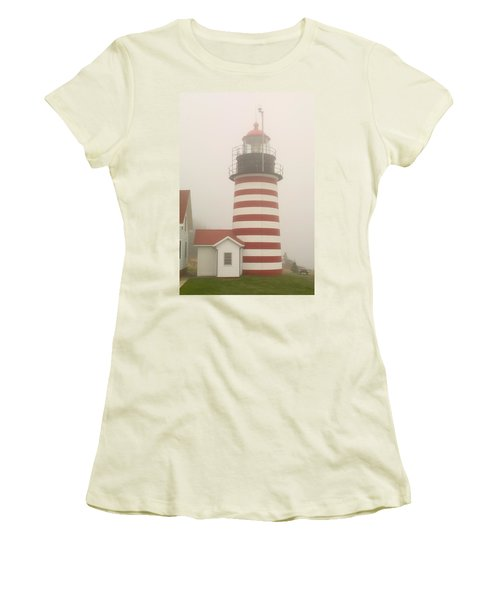 West Quody Head Lighthouse Women's T-Shirt (Athletic Fit)