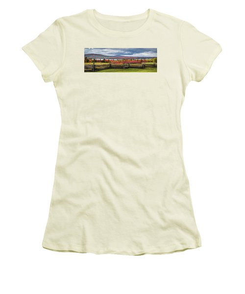 Westmore Overlook Women's T-Shirt (Junior Cut) by Tim Kirchoff