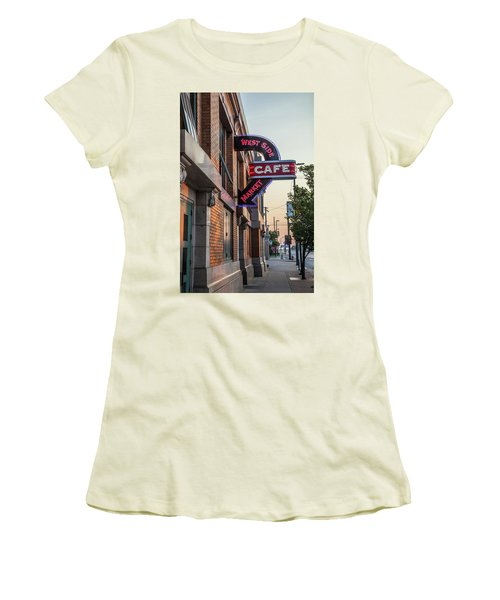 Westsidemarketcafe Women's T-Shirt (Athletic Fit)