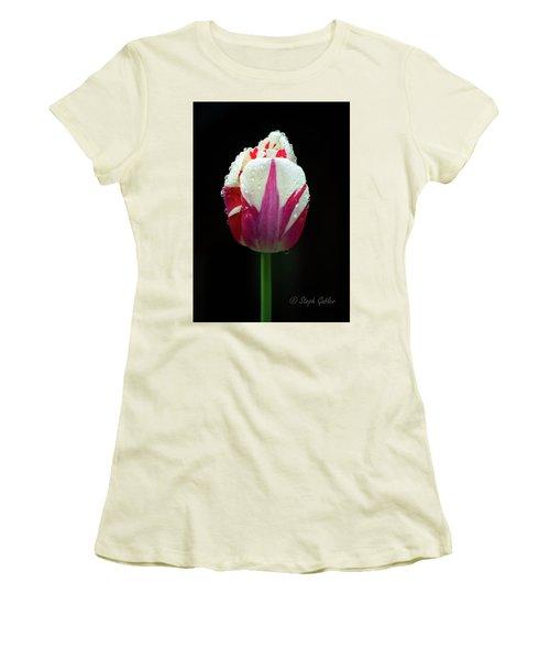 Wet Tulilp Women's T-Shirt (Athletic Fit)