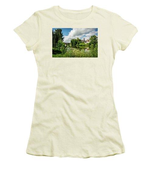 Women's T-Shirt (Junior Cut) featuring the photograph Wetzlar Germany by David Morefield