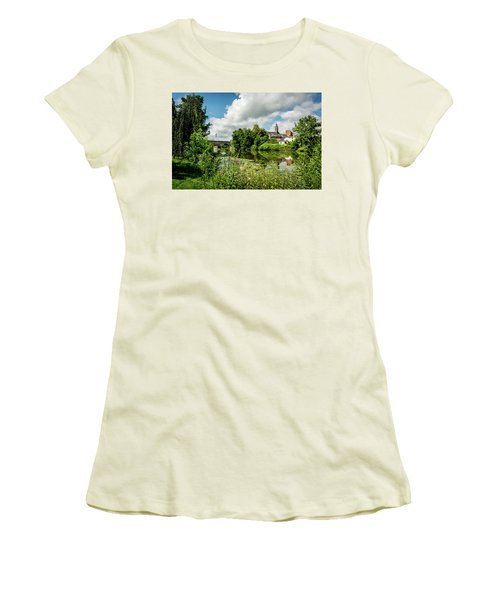 Women's T-Shirt (Athletic Fit) featuring the photograph Wetzlar Germany by David Morefield