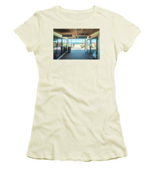 Whaler's Wharf Women's T-Shirt (Athletic Fit)