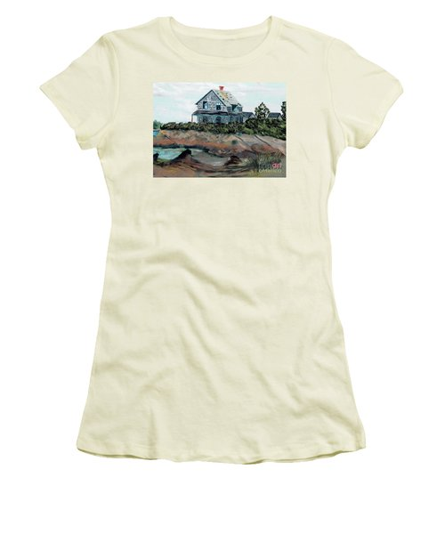 Whales Of August House Women's T-Shirt (Athletic Fit)