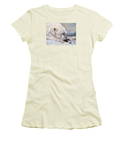 What Do Polar Bears Dream Of Women's T-Shirt (Athletic Fit)