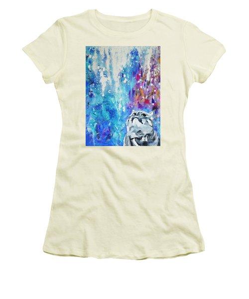 What's Up? Women's T-Shirt (Junior Cut) by Betty M M Wong