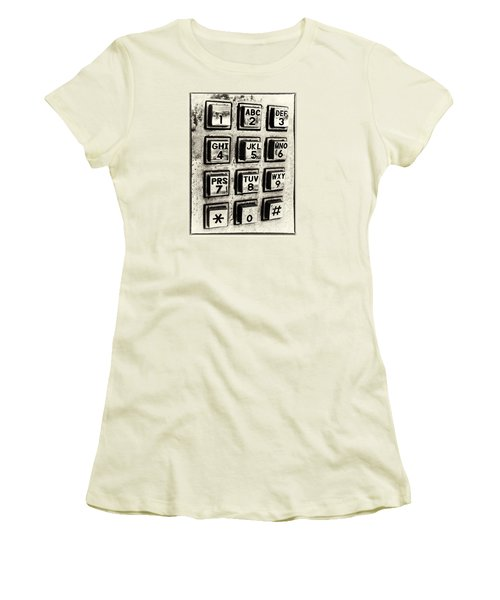 What's Your Number? Women's T-Shirt (Junior Cut) by Caitlyn  Grasso