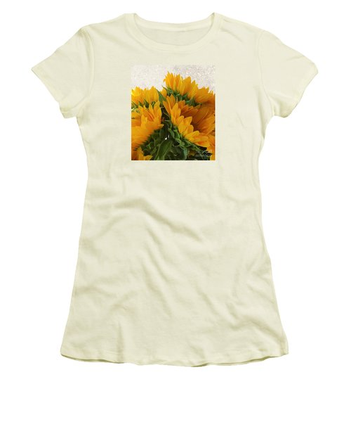 When The Autumn And Winter Meet By Jasna Gopic Women's T-Shirt (Junior Cut) by Jasna Gopic