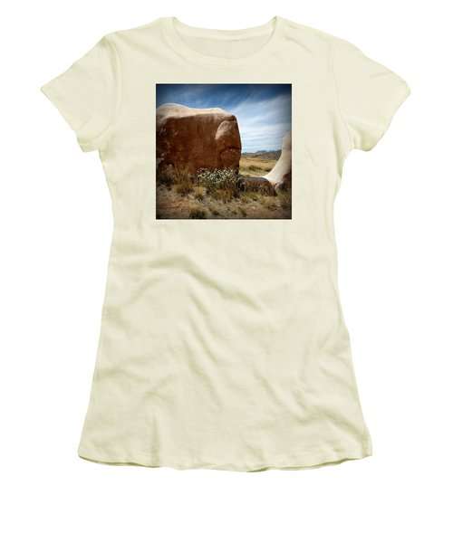 Women's T-Shirt (Junior Cut) featuring the photograph Where Have All The Flowers Gone by Joe Kozlowski