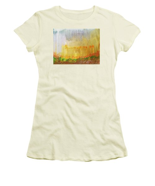 Where The Tall Grass Grows Women's T-Shirt (Athletic Fit)