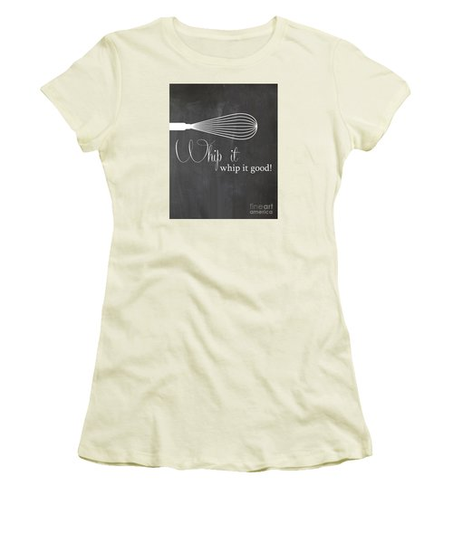 Whip It Good Women's T-Shirt (Athletic Fit)