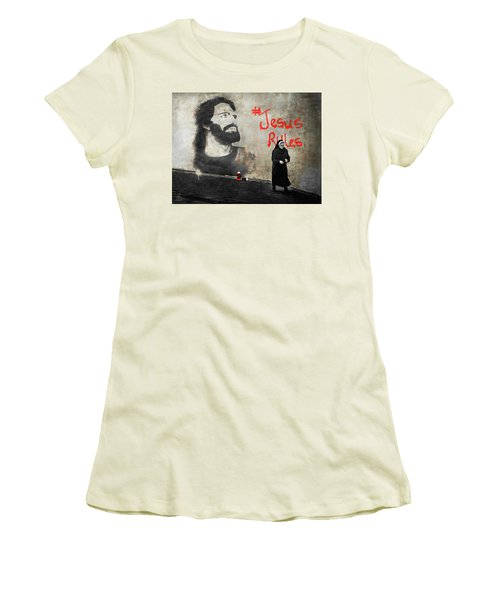 Who Knew Women's T-Shirt (Junior Cut) by Pennie  McCracken