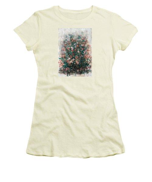 Wild Flowers Women's T-Shirt (Junior Cut) by Laila Awad Jamaleldin