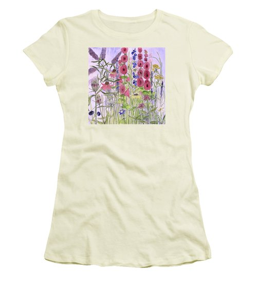 Wild Garden Flowers Women's T-Shirt (Athletic Fit)