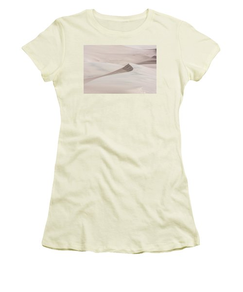 Women's T-Shirt (Athletic Fit) featuring the photograph Wind Formations by Colleen Coccia