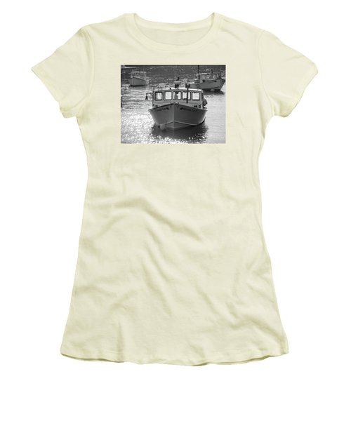 Winter Harbor, Maine  Women's T-Shirt (Athletic Fit)
