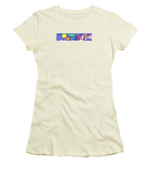 Wish - 36 Women's T-Shirt (Junior Cut) by Mirfarhad Moghimi