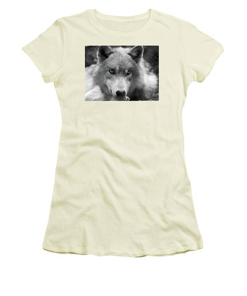 Wolf 1 Women's T-Shirt (Athletic Fit)