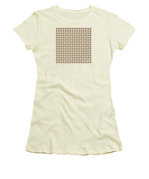 Women's T-Shirt (Junior Cut) featuring the photograph Woman Image Ten by Jack Dillhunt