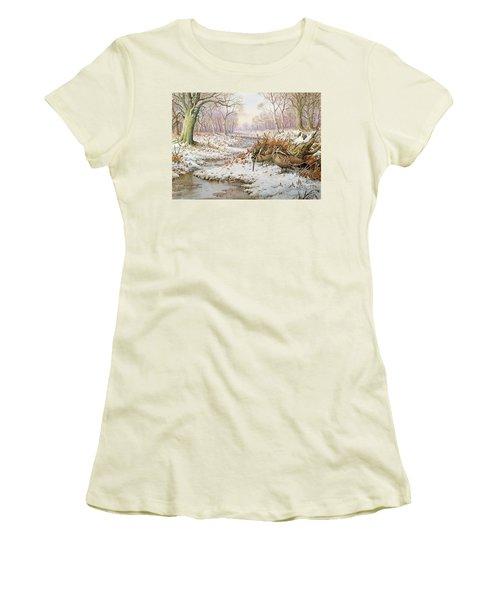 Woodcock Women's T-Shirt (Junior Cut)