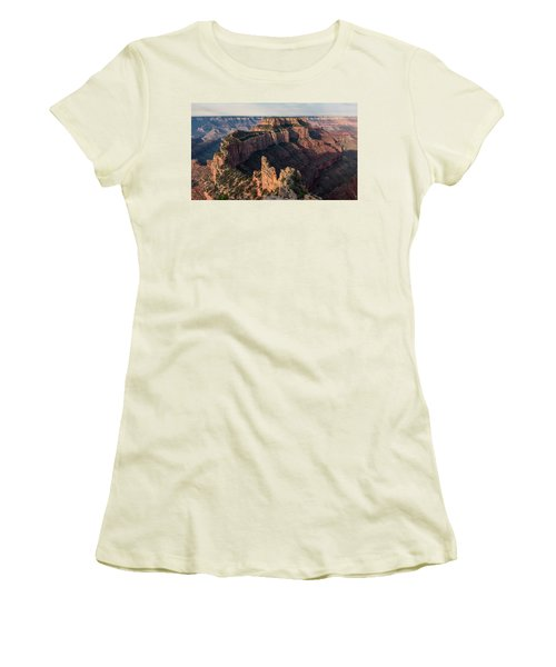 Wotan's Throne Panorama II Women's T-Shirt (Athletic Fit)