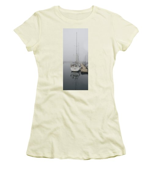 Yacht Doesn't Go In The Fog Women's T-Shirt (Athletic Fit)