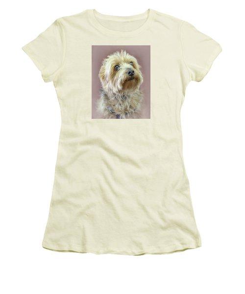 Yorkshire Terrier Women's T-Shirt (Junior Cut) by Marion Johnson