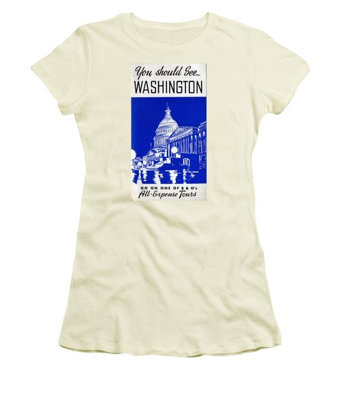You Should See Washington Women's T-Shirt (Athletic Fit)