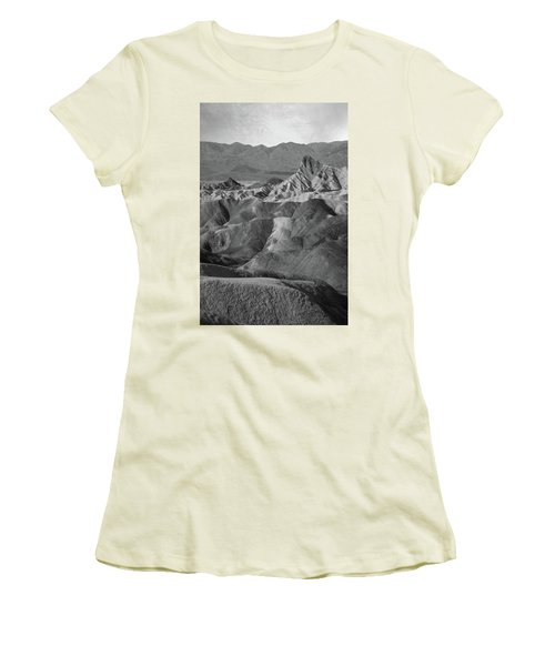 Zabriskie Point Portrait Women's T-Shirt (Athletic Fit)