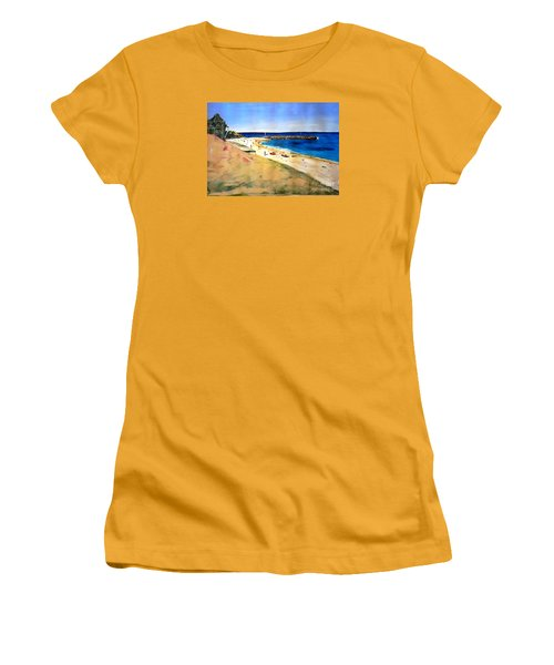 Cottesloe Beach Women's T-Shirt (Junior Cut) by Therese Alcorn