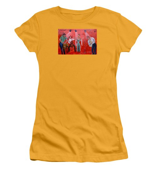 Live Jazz Women's T-Shirt (Athletic Fit)