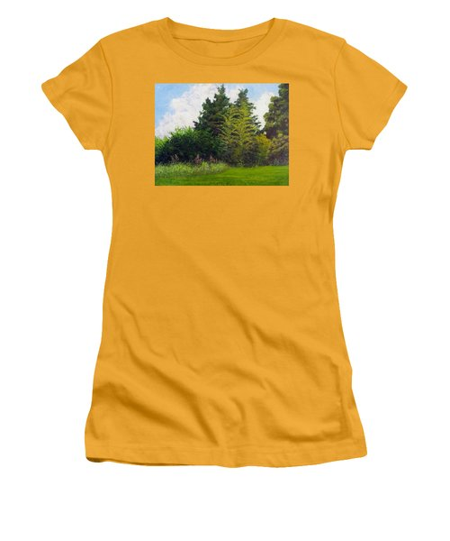 Summer Women's T-Shirt (Junior Cut) by Jeanette Jarmon