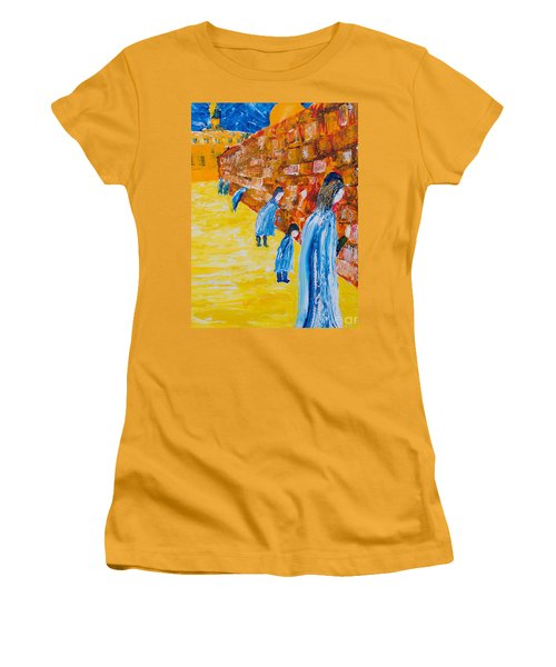 Western Wall Women's T-Shirt (Athletic Fit)