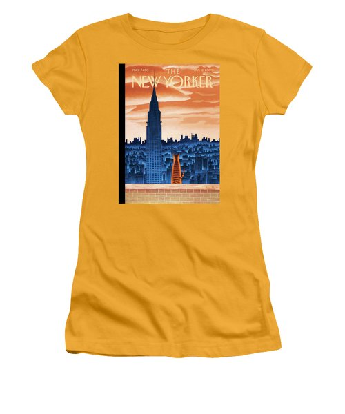 New Yorker January 12th, 2009 Women's T-Shirt (Athletic Fit)