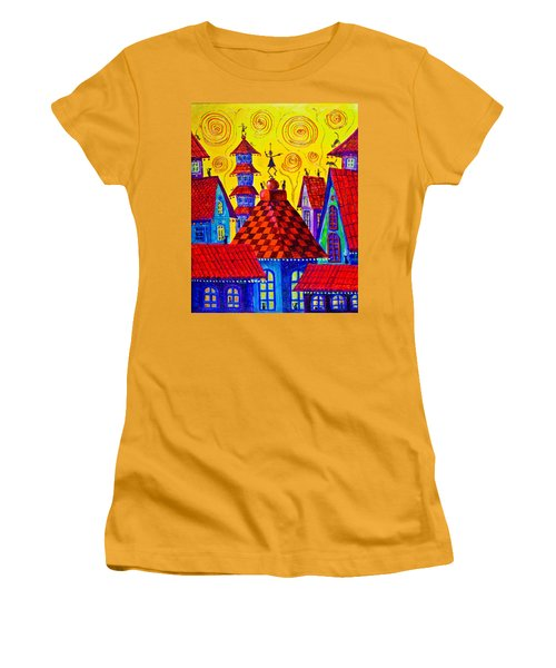 1099 Magic Town 4 - Gilded Women's T-Shirt (Athletic Fit)